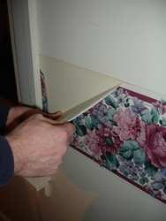 Wallpaper Removal - Step 1