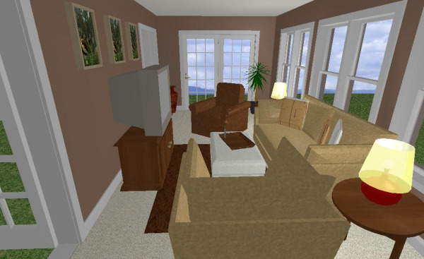 Family Room Rendering 2