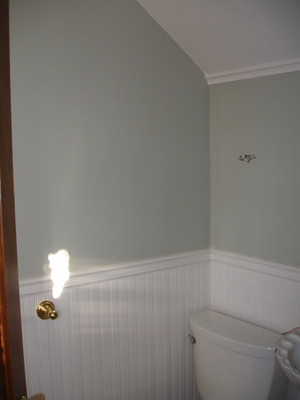 Our Old House 187 Blog Archive 187 Painting The Powder Room