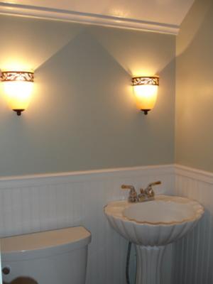 New Bathroom Sconces