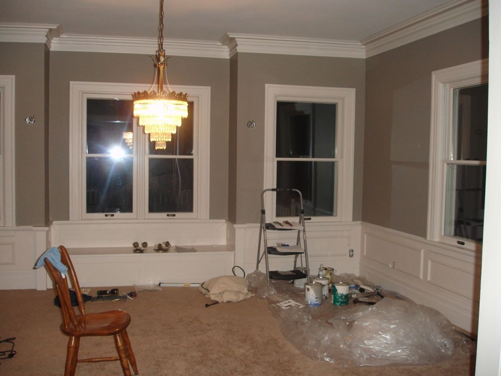 Our old house blog archive painting the dining room for Dining room paint ideas
