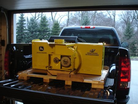 "John Deere 47"" Quick Hitch Snow Blower"