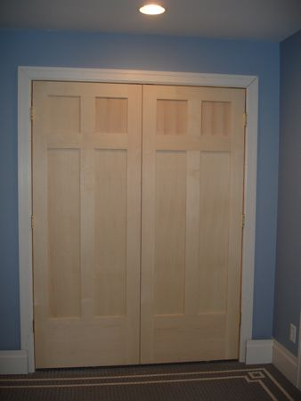 Designer Closet Doors on Custom Coat Closet Doors