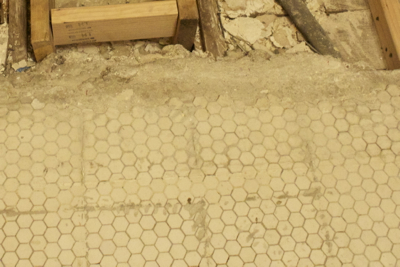 Original Tile Floor