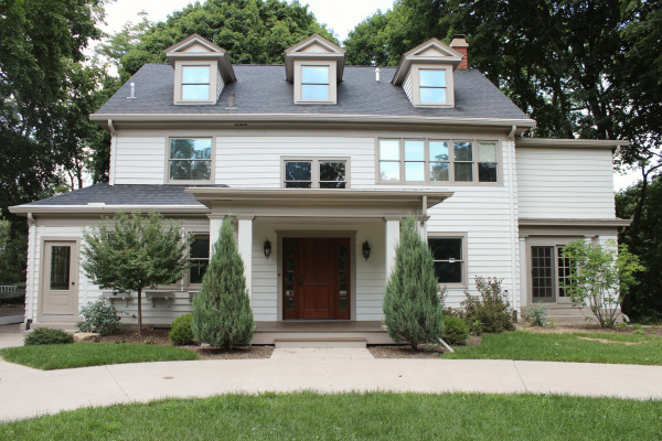 Our old house blog archive an update on exterior paint for Classic gray paint