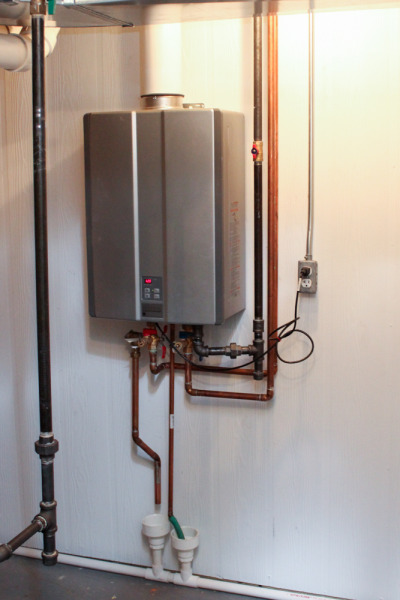 our old house » tankless water heater