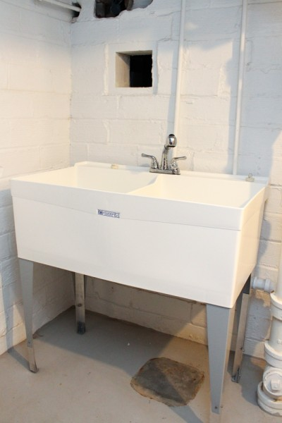 Our Old House 187 Blog Archive 187 A New Laundry Sink In The