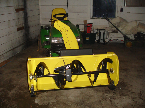 "John Deere Quick Hitch 47"" Snow Blower"