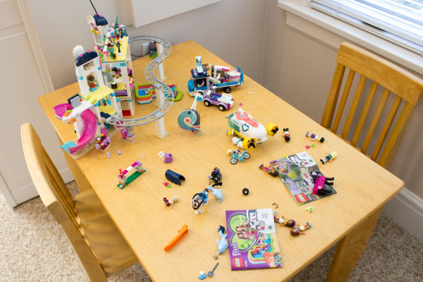 Some of Haley's current favorite Lego sets/builds.