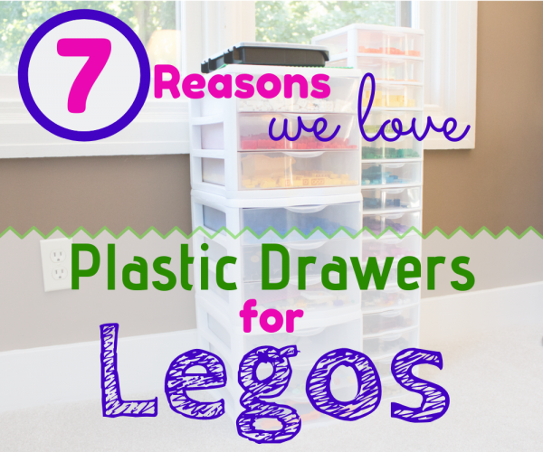 7 Reasons We Love Plastic Storage Drawers for Legos