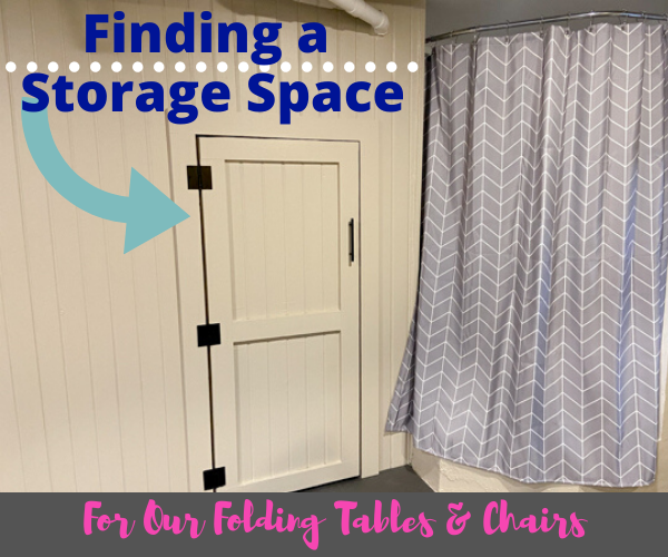 Finding a Storage Space for Folding Tables & Chairs